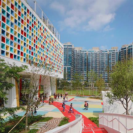 2019 WAN Awards: French International School of Hong Kong - Henning Larsen