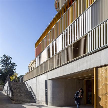 2019 WAN Awards: Lycée Français Maternelle - b720 Fermín Vázquez Architects