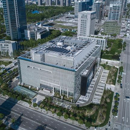 2019 WAN Awards: Ningbo Yinzhou Civic Center - ARCHIMORPHIC Inc