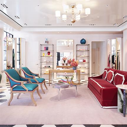 Luxurious boutique gets expert makeover