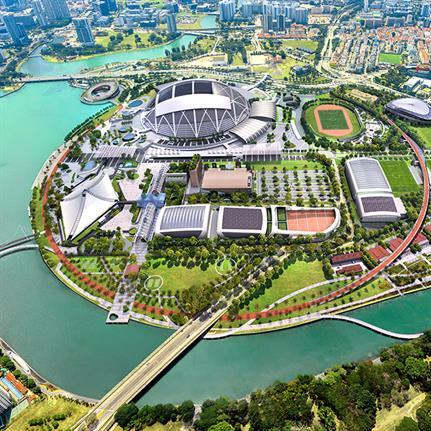 Singapore sport from Pomeroy Studio