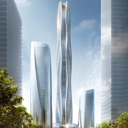 500 meter tower to achieve LEED-Gold