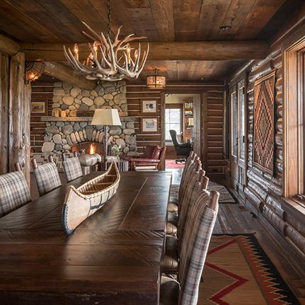 Vintage Style Cowboy Conversion Saves Mid 20th Century Cabin