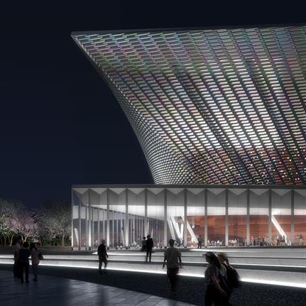 Snøhetta wins design competition for Xingtai Grand Theatre
