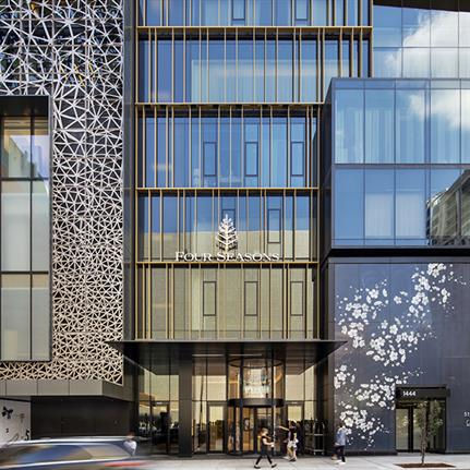 The Four Seasons Hotel Montreal unveiled