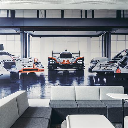 WELL done to Porsche Shanghai HQ designed by anySCALE