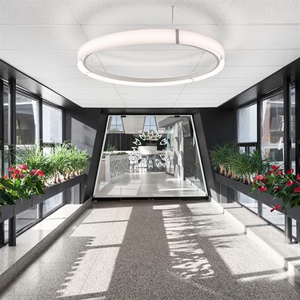 Montreal's Le Marie-Victorin cafeteria transformed