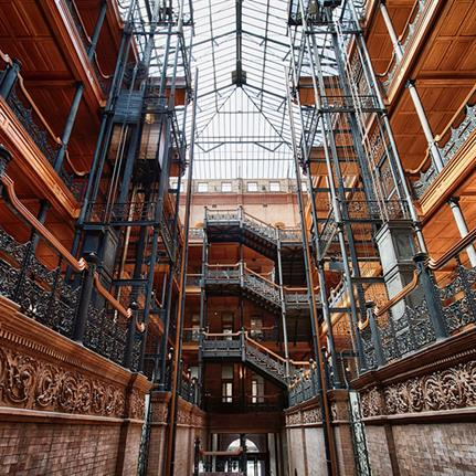 Woods Bagot launches LA Studio in Blade Runner's Bradbury Building