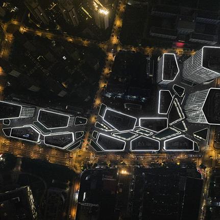 CTBUH award Shanghai's Poly Greenland Plaza