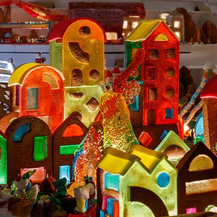 Public choose top 10 gingerbread city creations in London