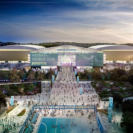 Concept to redesign aviation site to create UK's third largest arena complex