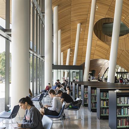 The Charles Library: Philadelphia Temple University's new addition