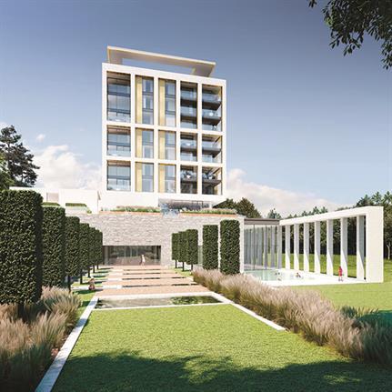 UNESCO landscape inspiration for new English Riviera five star hotel