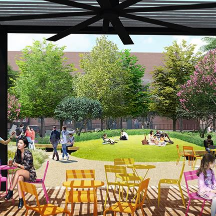 New park breaking ground in the West End's historic district