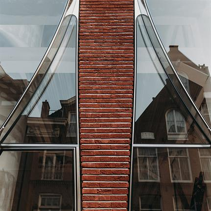 The Looking Glass: see through the windows of Dutch art's soul in facade renovation