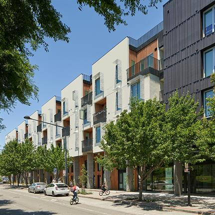 The Union Flats: one of the largest completed housing developments in Northern California