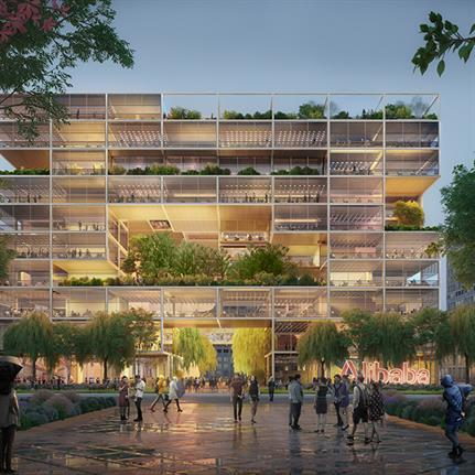 Foster + Partners announced as the winners to design Alibaba's new headquarters