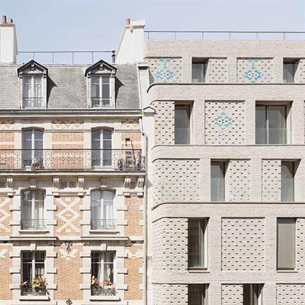 Avenier Cornejo's modern housing style complements oldest street in Paris