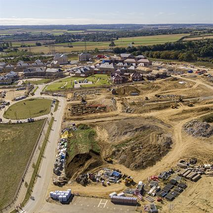 Ebbsfleet Garden City project: a significant carbon-reducing scheme