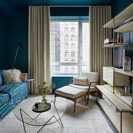 Frederick Tang Architecture combines two tastes and two condominiums in New York