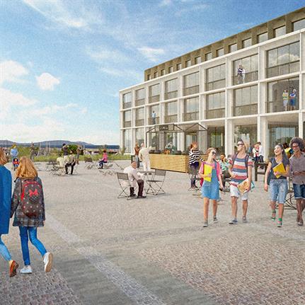 Todd Architects submit plans for landmark £50m Irish seaside regeneration project