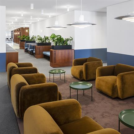 dMFK complete work space in the UK's second tallest building for The Office Group