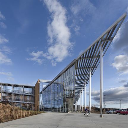 The American high school's new state-of-the-art centre designed by Perkins & Will
