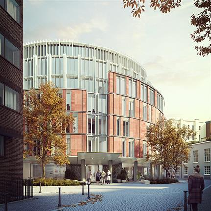 Permission granted to PRP and Hamiltons Architects to build London a new luxury hotel