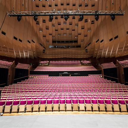 $150m upgrade project begins on Australia's famous Sydney Opera House Concert Hall