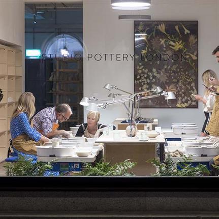 FLINT moulds a pottery studio for Londoners