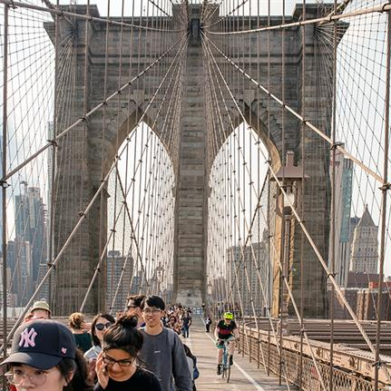 Design competition: reimagining New York's Brooklyn Bridge