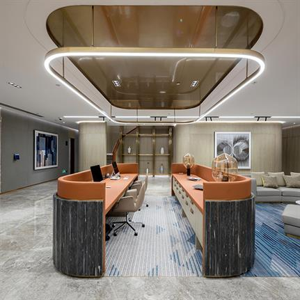 SHH complete KWG Group's new top floor headquarters in Shanghai