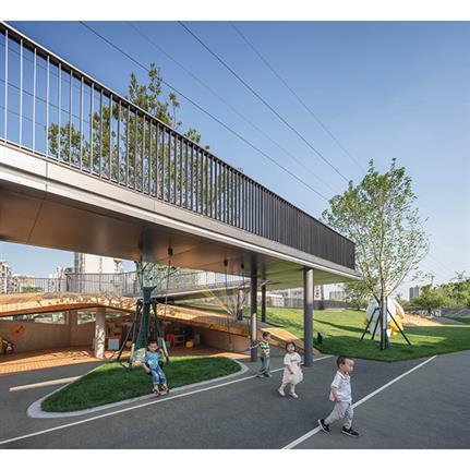 2020 WAN Awards entry: Galaxy World Kindergarten - Lacime Architects