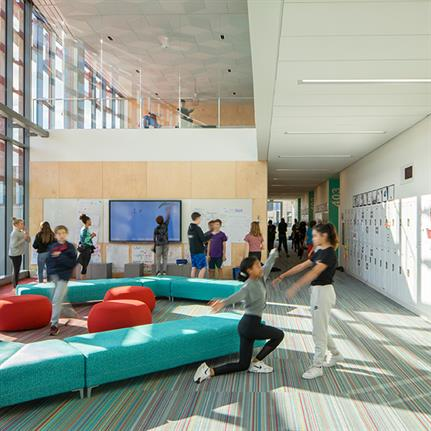 2020 WAN Awards entry: Seattle Academy of Arts and Sciences Middle School - LMN Architects