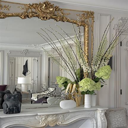 Nouvelle vie for Haussmannian apartment