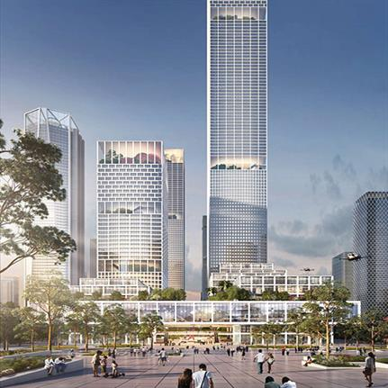 Shaping life's design: competition winners Henning Larsen and their design of Shenzhen Bay Headquarters City in China