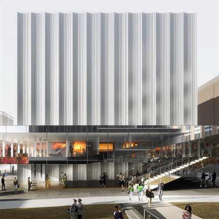 Ivy League school unveils arts center design