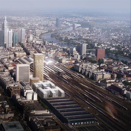 Striking tower to bring new identity to Frankfurt