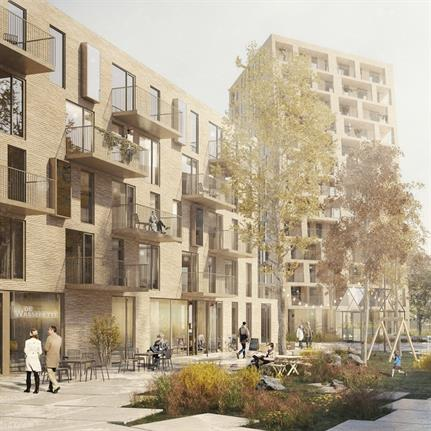C.F. Møller Architects and BRUT win Ostend project