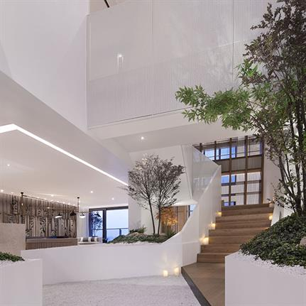 2019 WIN Awards:  CITEDUCIEL APARTMENT Rooftop Duplex Club - Shenzhen Horizon Space Design Co.,Ltd