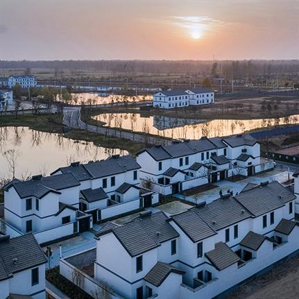 2020 WAN Awards entry: Song-Zhang-Kou New Rural Housing - Bluetown Architects