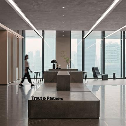 2021 WIN Awards entry: Trout & Partners Shanghai HQ - Woods Bagot