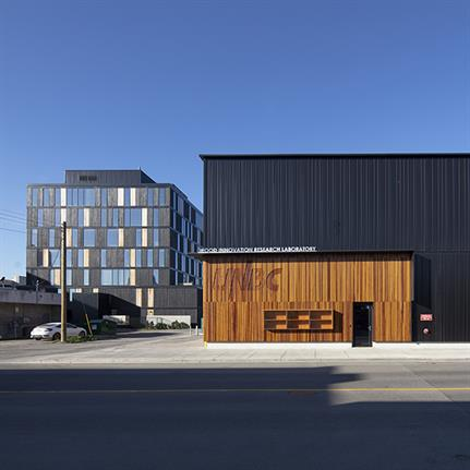 2019 WAN Awards: University of Northern British Columbia Wood Innovation Research Laboratory – Stantec Architecture Ltd