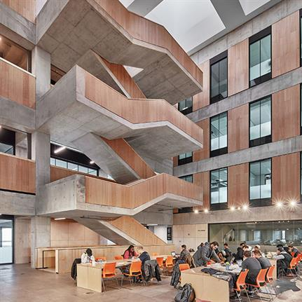 2019 WAN Awards: University of Toronto Myhal Centre for Engineering Innovation & Entrepreneurship - Montgomery Sisam Architects + Feilden Clegg Bradley Studios