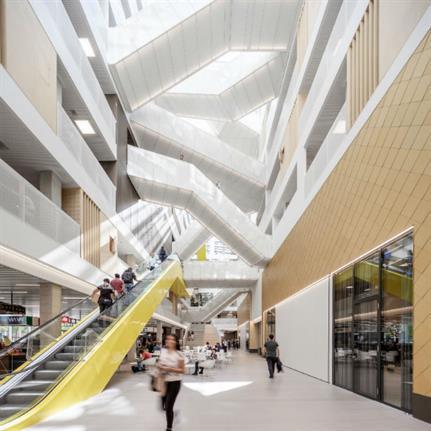 New university block hailed as vertical city hall