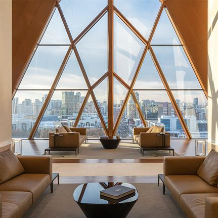 2021 WIN Awards entry: RCC Headquarters - Foster + Partners