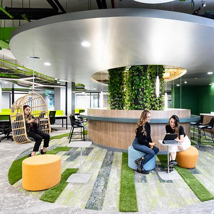2021 WIN Awards entry: Globant Tech Lab - AEI Spaces