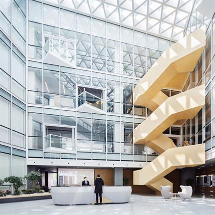2020 WIN Awards entry: Shanghai Baoye Centre Interior Design - LYCS Architecture