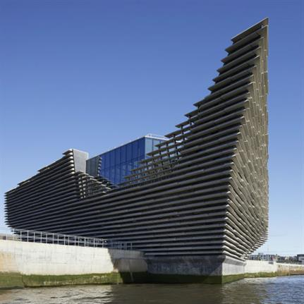 V&A Dundee is overnight sensation