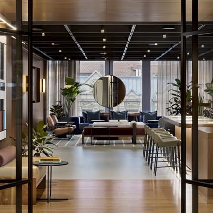 2020 WIN Awards entry: 1700 Broadway Club - Fogarty Finger Architecture